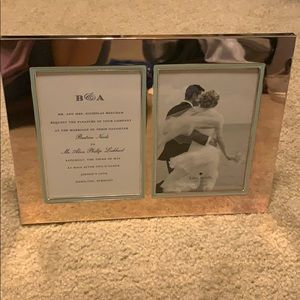 Kate Spade mirrored double picture frame